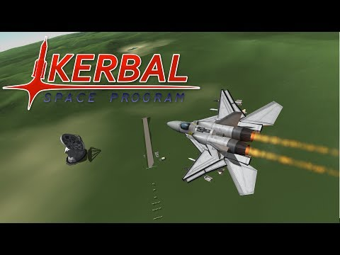 Fighter Jet Showdown 3 (Part 2) - Coastal Conflict - Kerbal Space Program