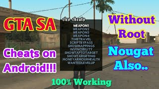 GTA SA Cheats on Android Without Root! (Cleo)| Alpha Technology