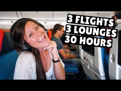 30+ HOURS in Turkish Airlines Economy Class | Kyrgyzstan to Texas