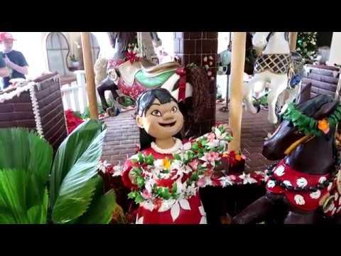 Disney's Beach and Yacht Club Christmas Tour and walk through 12/6/17