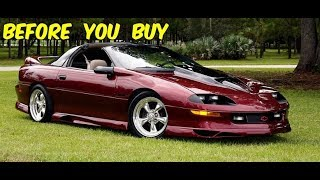 Download Video Watch This BEFORE You Buy a 4th Gen Chevy Camaro Z28 MP3 3GP MP4