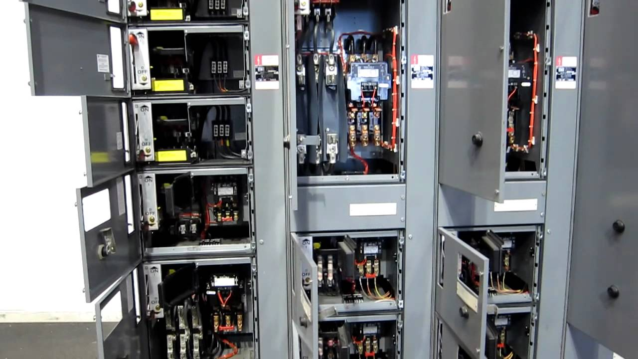 Used Square D Motor Control Center  stock# 43659002