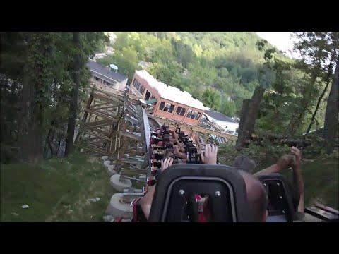 Lightning Rod HD On-Ride POV Back Dollywood Summer 2016