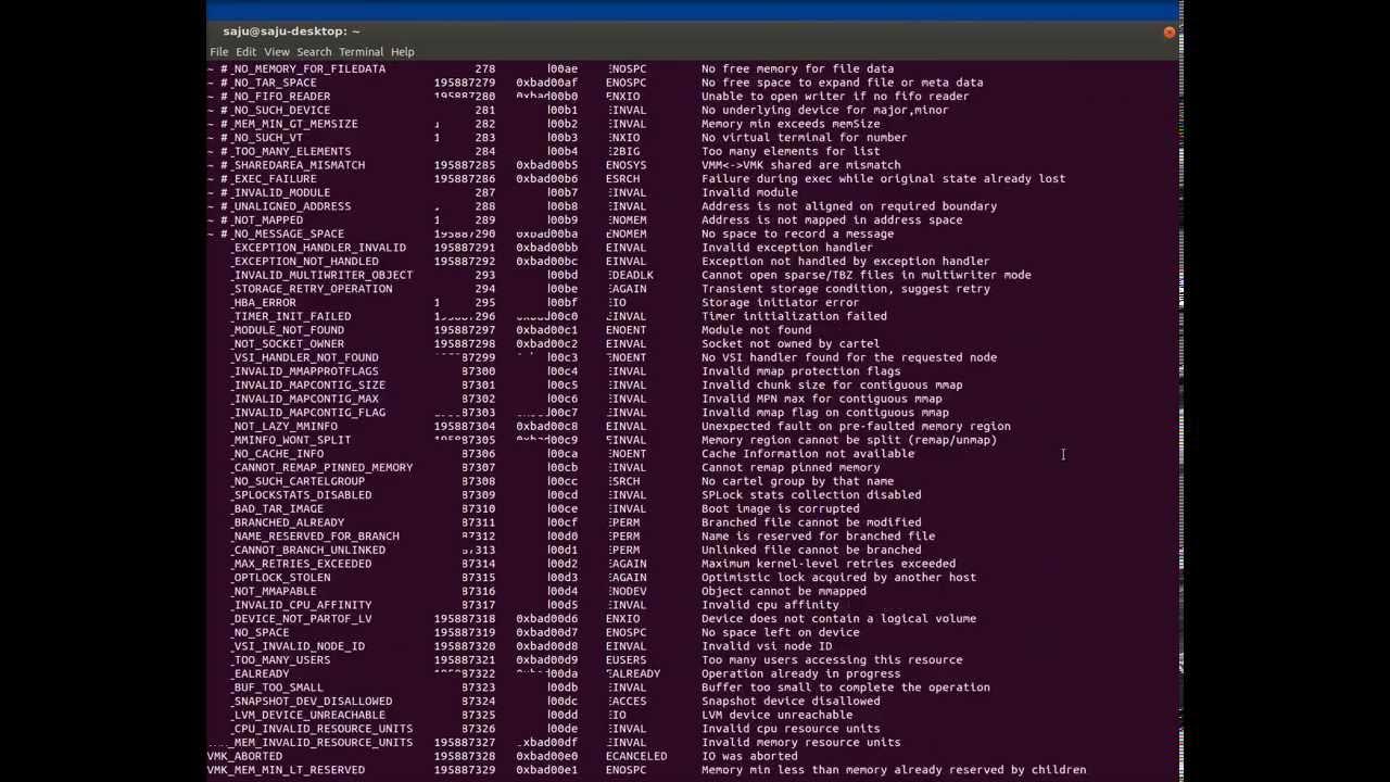 SSH commands. Description 8