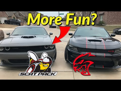 Why The Scatpack Is More Fun To Drive On The Street Than The Hellcat!