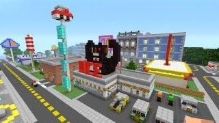 Minecraft Xbox 360 - Modern City - SPANKLECHANK's World Tour - Part 6
