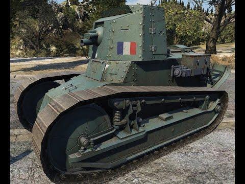 World Of Tanks Renault FT 75 BS | Tier II French SPG | 8 Kills - Mittengard
