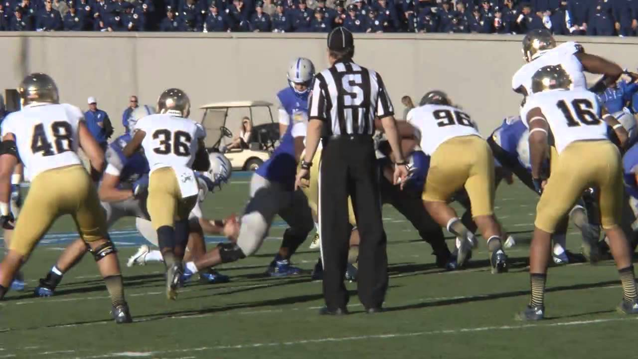 Air Force Football Vs. Notre Dame Highlights - YouTube