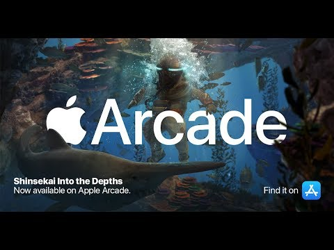 Shinsekai: Into the Depths - Launch Trailer (Apple Arcade)