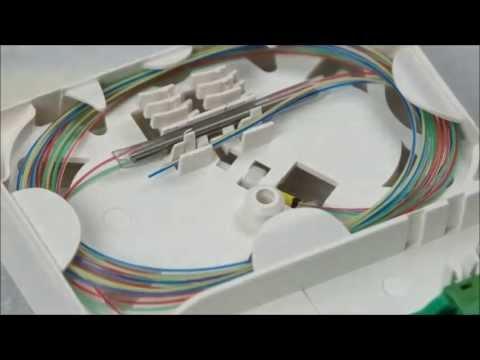Daire İçerisinde  Fiber Optik Sonlandırma www.fiberika.com