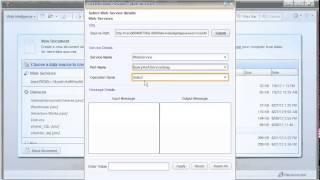 الاتصال إلى خدمة ويب: SAP BusinessObjects ويب الاستخبارات 4.0