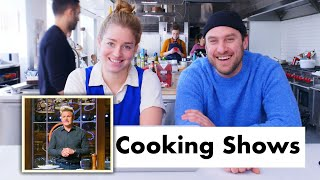 Pro Chefs Review TV Cooking Shows | Test Kitchen Talks | Bon Appétit