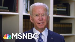 'None Of Us Can Be Silent': Biden Responds To Outrage Over George Floyd's Death | MSNBC