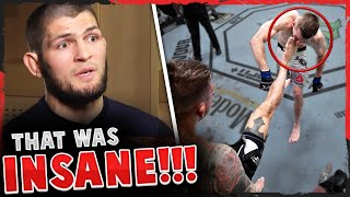 Reactions to Dustin Poirier vs Dan Hooker at UFC Vegas 4, Mike Perry on his girlfriend cornering him