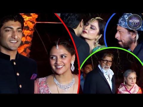 Ahana Deol's WEDDING RECEPTION: Shahrukh, Deepika, Aishwarya & Rekha ATTEND