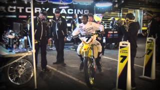 2014 YOSHIMURA SUZUKI FACTORY RACING - OAKLAND SX RACE REPORT