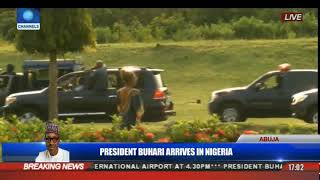 President Buhari Is Received By Officials In Jubilation Pt.2 | President Buhari Returns |