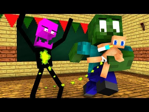 download Monster School : BABYSITTER and Christmas - Minecraft Animation