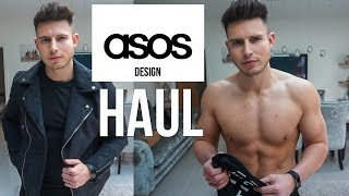 HUGE ASOS DESIGN Men's Clothing Haul & Try on 2019