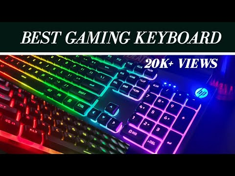 Best Gaming LED Keyboard HP K500F 2020 Unboxing & Review