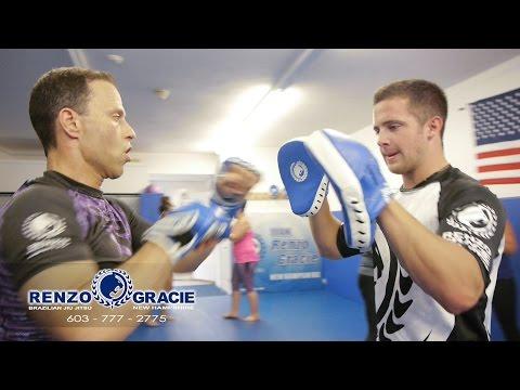 Renzo Gracie New Hampshire - Gracie Jui Jitsu Power Fitness class sample