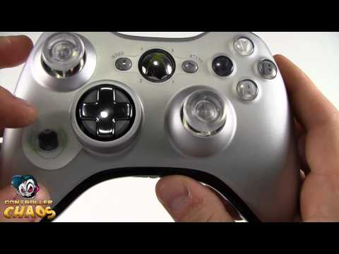 Silver XBOX 360 Transforming D-Pad Controller - Review - Modded Controller - Controller Chaos