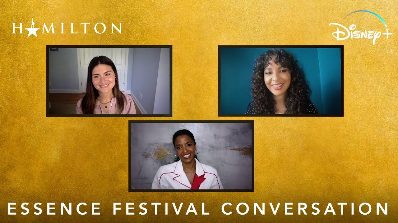 """The Schuyler Sisters"" Essence Festival Conversation | Hamilton | Disney+"