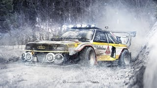 Quattro Legend drifting in the snow | Dream Cars | Legends | Vintage