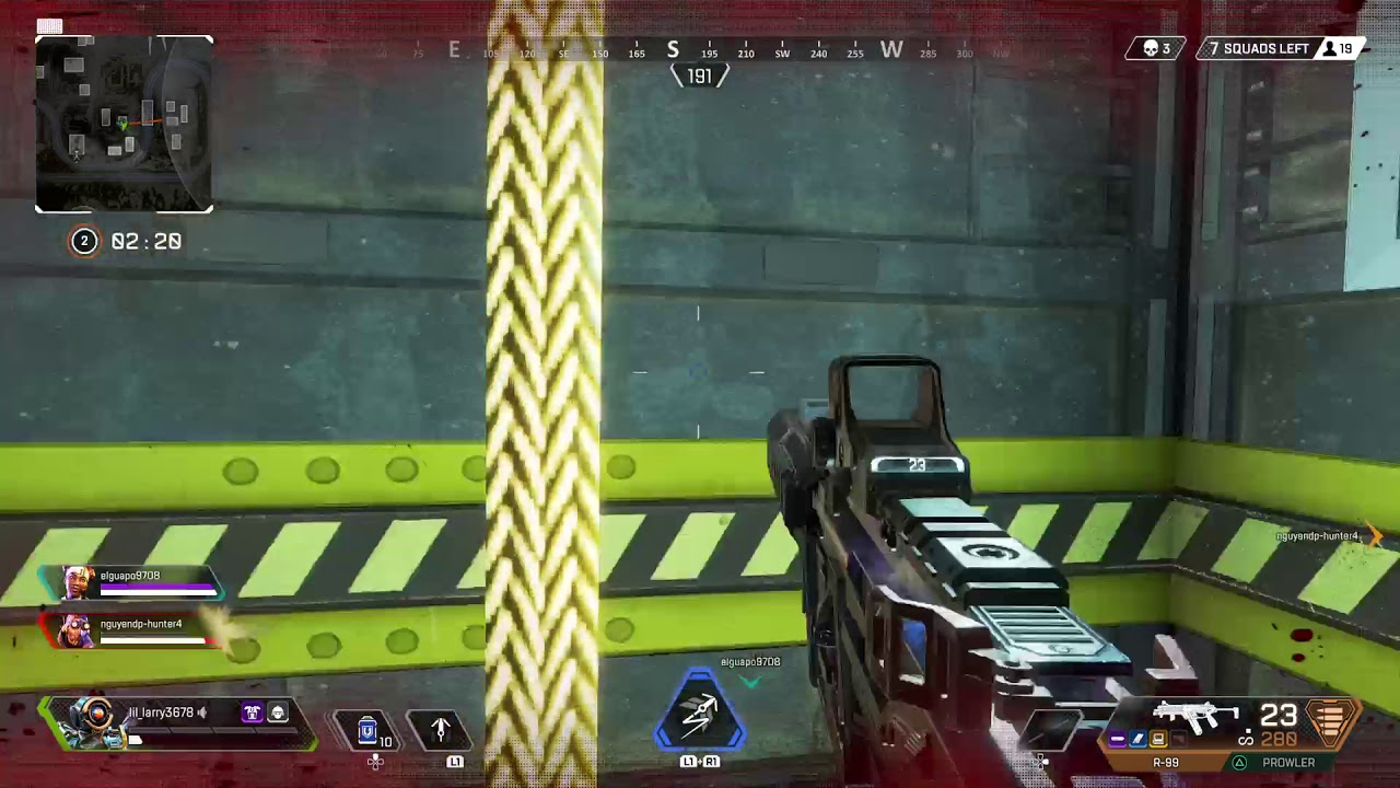 Apex Legends - PS4- PIXEL HEALTH THIRSTY KARMA - YouTube