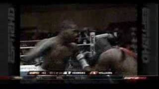 Aaron Williams vs Jose Luis Herrera