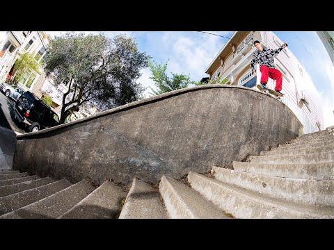 JEREME KNIBBS vs. ROLLERCOASTER GRIND IN SF! Screaming Vlog 25 | Santa Cruz Skateboards