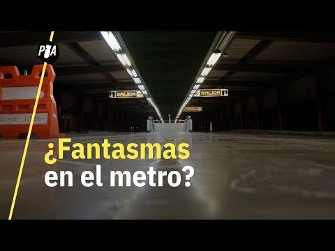Los fantasmas del metro de la CDMX
