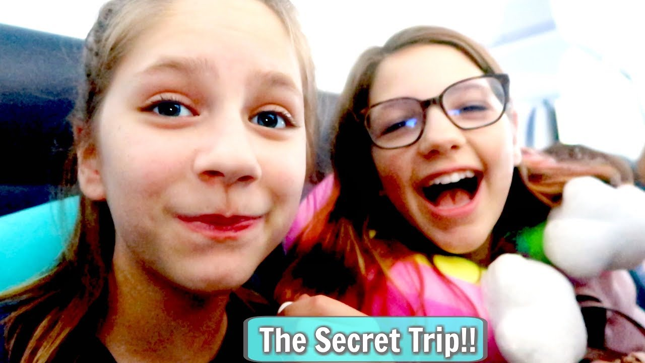 THE SECRET TRIP with my Best Friend Annie Rose! (I Lost My Camera on our Vacation!) Hope Marie