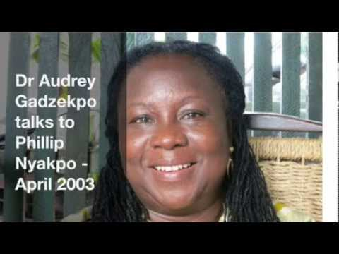 Dr Audrey Gadzekpo talks to Phillip Nyakpo - April 2003