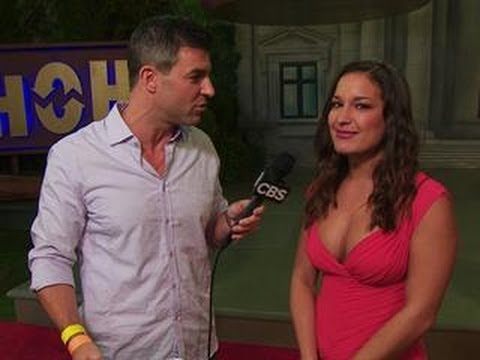 big brother finale backyard interview with jessie youtube