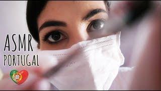 ASMR Portugal: Roleplay dentista - Vídeo para te deixar com sono (Português - PT) 🎧BINAURAL👂
