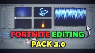 New Fortnite Editing Pack 2.0 // Free Download + leaked effects used by Many Fortnite youtubers!!