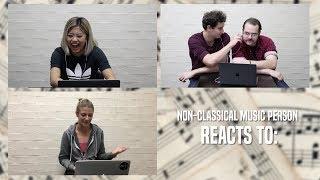 Non Musicians React to Classical Musicians
