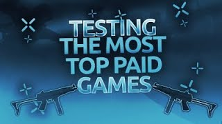 TESTING TOP PAID ROBLOX GAMES!   Are they worth it?