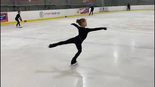Невероятно красиво Miroslava Lebedeva Figure skating Фигурное катание Красота на льду