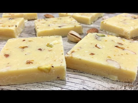 How To Make Barfi Recipe • Milk Powder Burfi Recipe • Mithai Recipe • Indian Sweets With Milk Powder