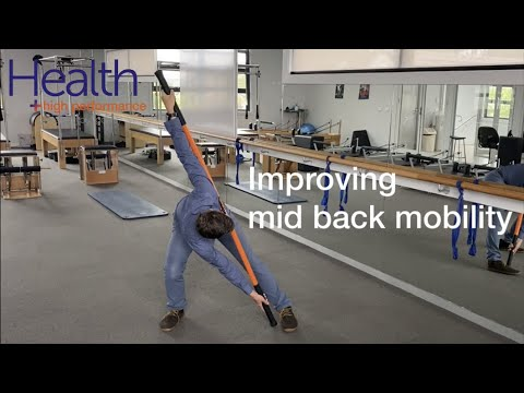Improving mid back mobility | Melbourne Sports Chiropractor