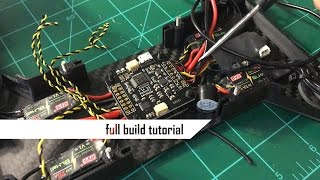 How to Build a Racing Drone // Full Build Tutorial // Hovership Zuul