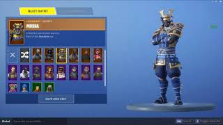 New Skin MUSHA - Fortnite Skin