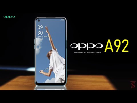 Oppo A92 Price, First Look, Design, Camera, Specifications, 8GB RAM, Features