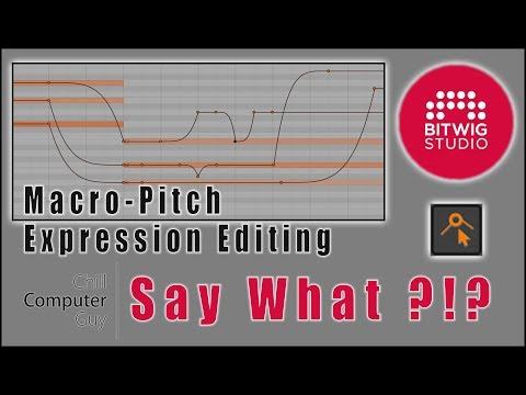 Bitwig Studio 2 Quick Tips: Micro Pitch Expression Editing. http://bit.ly/2UhZOhb
