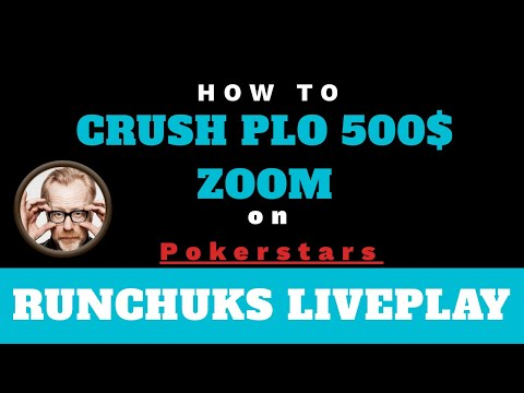 Play and Explain PLO $500 Zoom - How to play Pot Limit Omaha