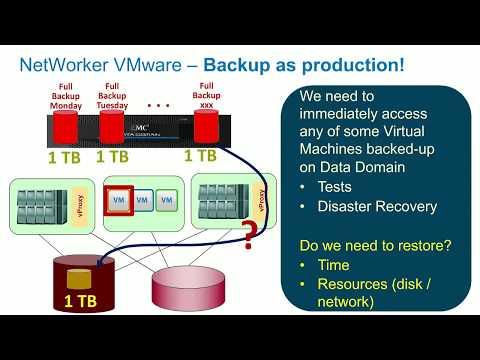 NetWorker & VMware 2017