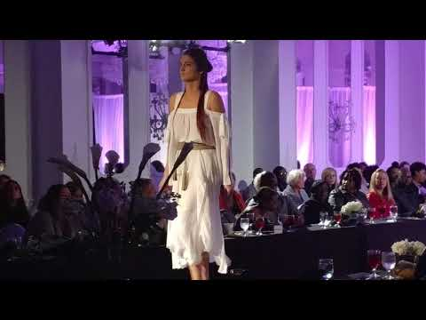 Brittany Barclay BCBG Runway Walk at the L. Allen Fashion Show 2018