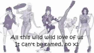 Pitbull - Wild wild love Feat G.R.L. Lyrics (Video with lyrics/letras)